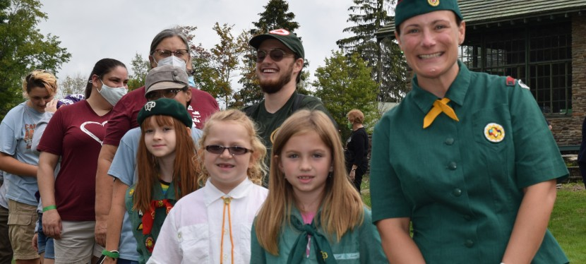Taking in 100 Years of Girl Scouts in NortheasternPA